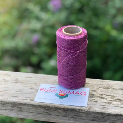 1mm Waxed Thread Linhasita 360 Light orchis Waxed Polyester Cord Linha Encerada | RUMI SUMAQ Macrame Cords