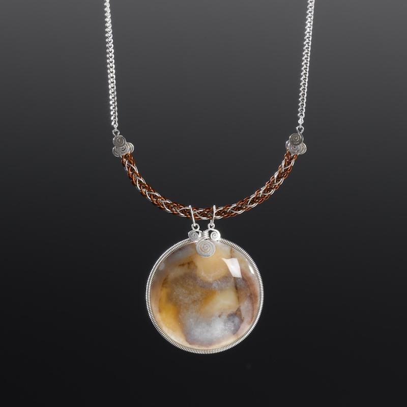 950 Silver necklace by designer Coco Paniora Salinas of Rumi Sumaq rumisumaq.com
