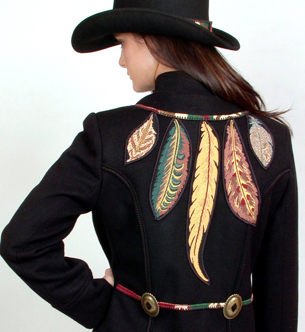 Alan Resnick Feather Jacket