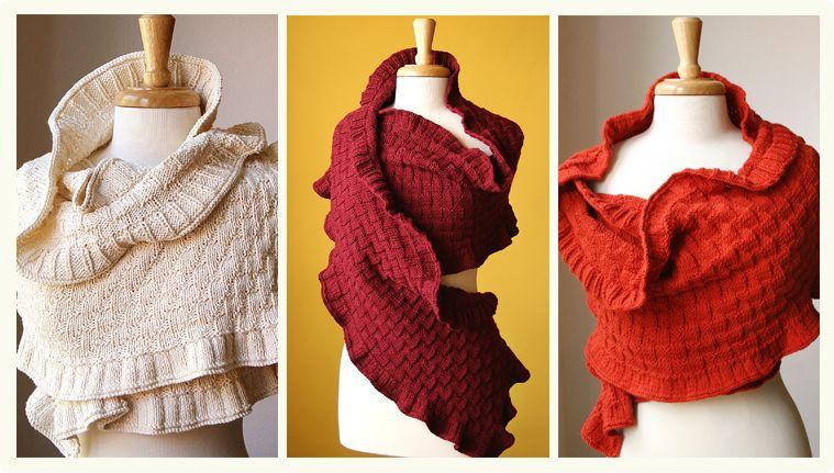 Fine Knitted Shawls by Elena Rosenberg