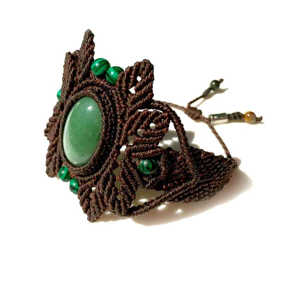 Jade Macrame Bracelet | Rumi Sumaq