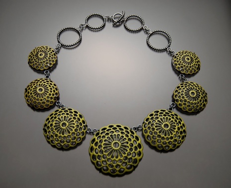 Joanna Nealey Enamel Necklace