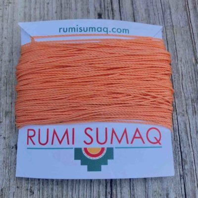 Linhasita 216 Peach 1mm Friendship Bracelet Cord | RUMI SUMAQ