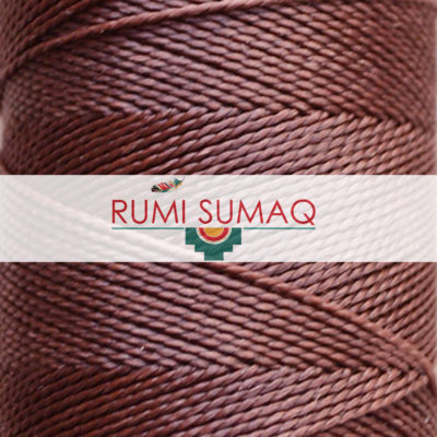 Linhasita 273 Waxed Polyester Cord | Rumi Sumaq Hilo Encerado