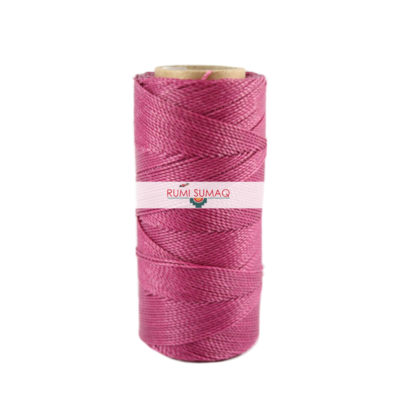 Find Linhasita 368 dark orchid 1mm waxed polyester cord at RUMI SUMAQ, the premier retailer for waxed thread for knotting, beading, quilting and leather hand-stitching