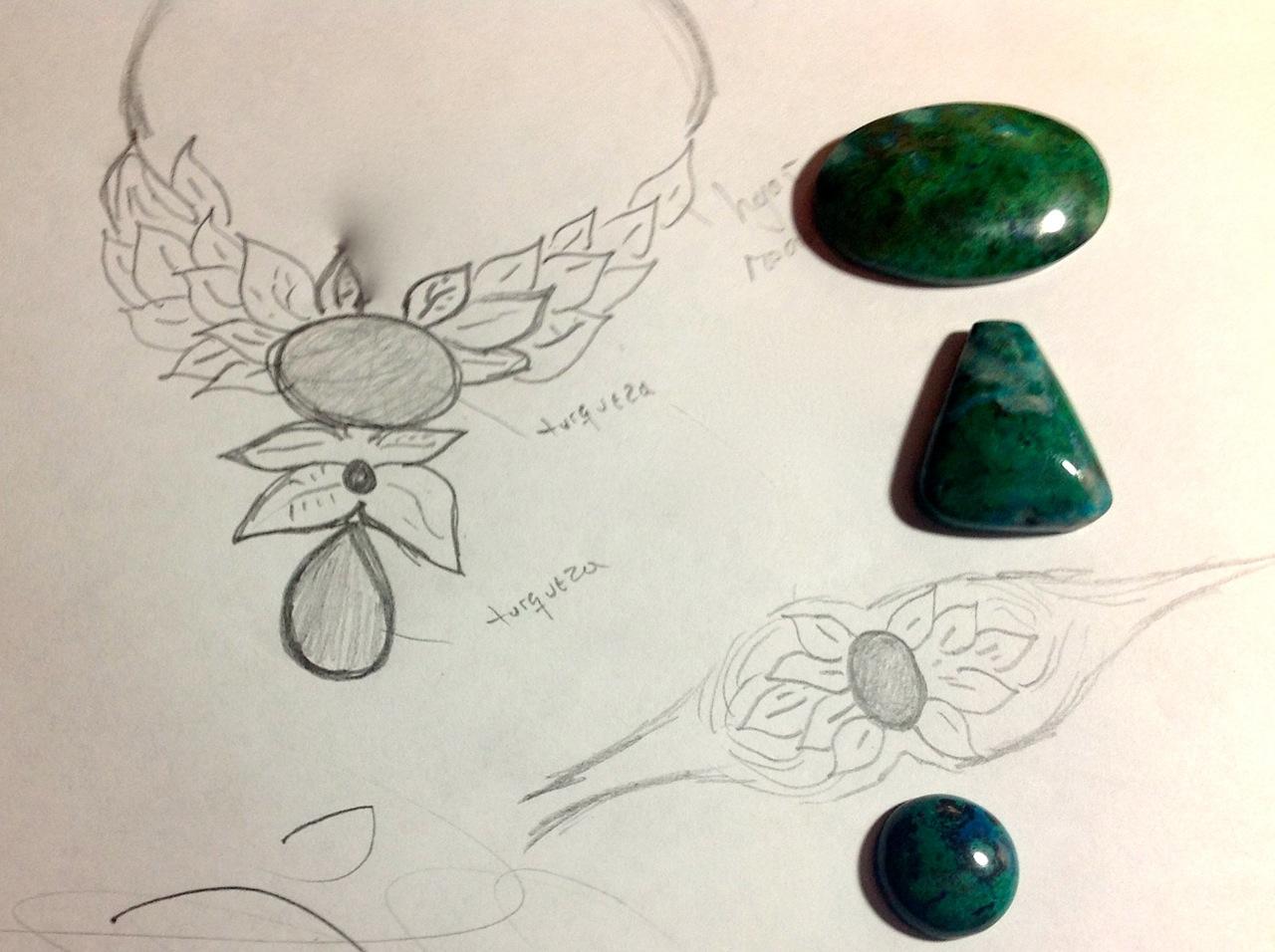 Macrame Fiber Jewelry in Bloom
