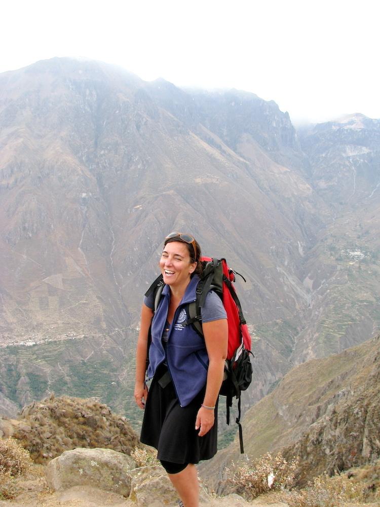 Co-owner of Rumi Sumaq Melanie Vento