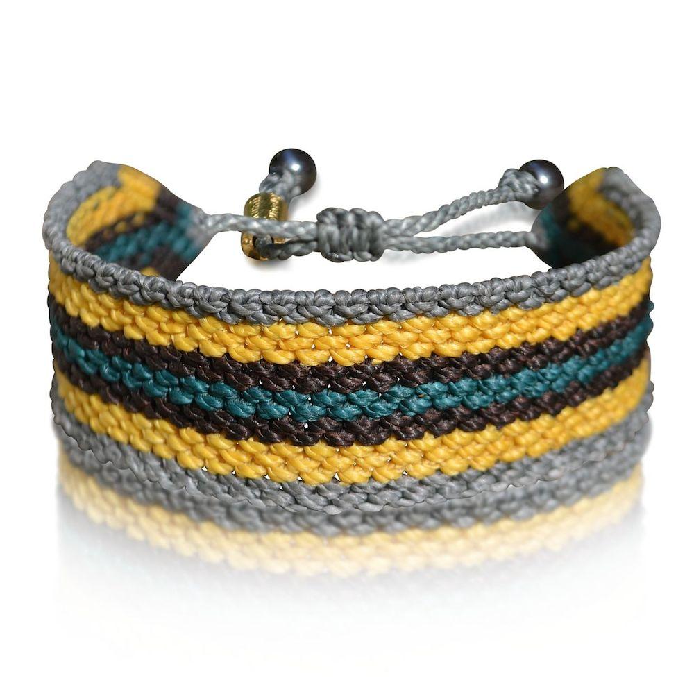 nouveau style a80f4 568b6 Amauta Men's Macramé Bracelet