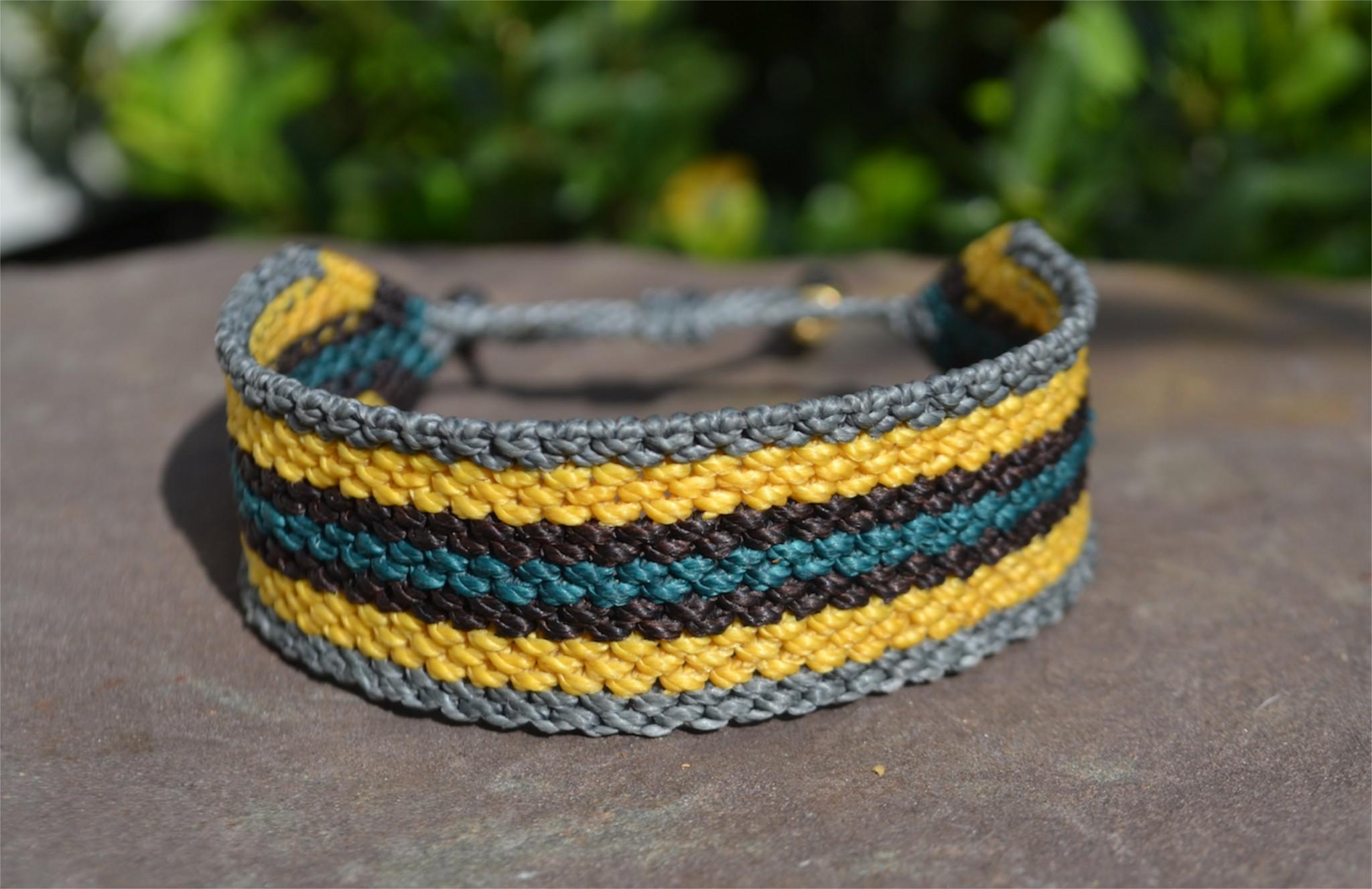 Rumi Sumaq Men's Macrame Bracelet