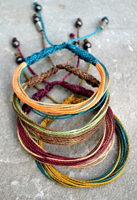Rumi Sumaq Multicolored Fringe Macrame Bracelets #festival #fashion #coachella