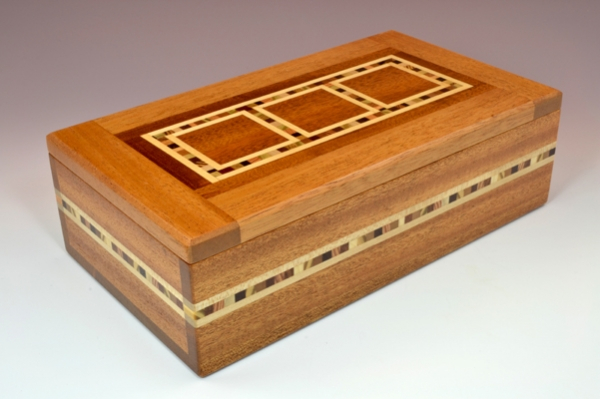 Wood 3 Square Box by Natural Renaissance