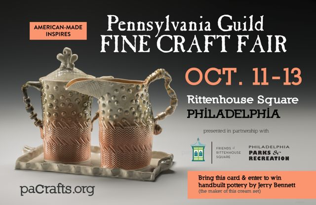 Pennsylvania Guild of Craftsmen October 11-13