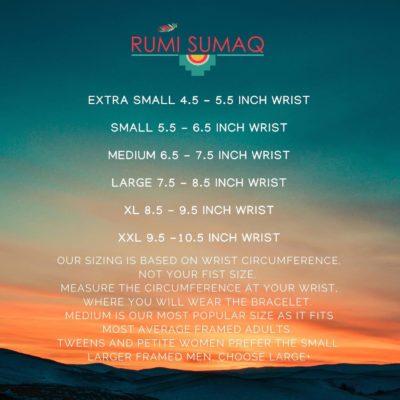 Size Chart for RUMI SUMAQ Bracelets