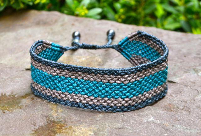 Rumi Sumaq Men's Macrame Bracelet rumisumaq.com
