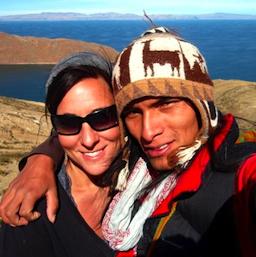 Rumi Sumaq Co-Owners Designer Coco Paniora Salinas and His Wife Melanie Vento