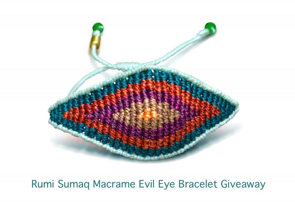 Rumi Sumaq Macrame Evil Eye Bracelet Giveaway