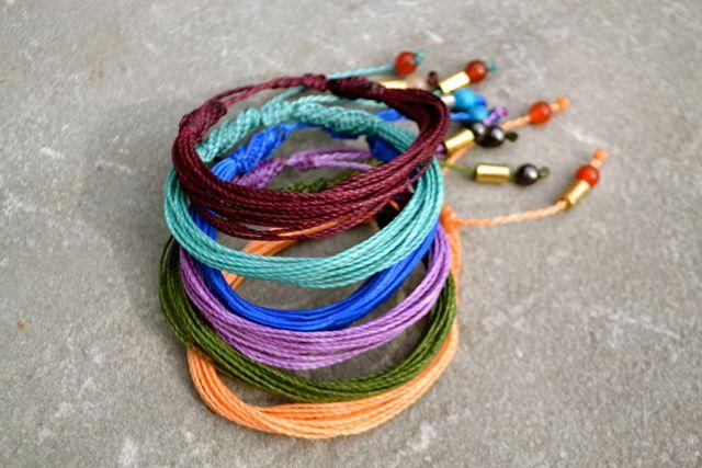Rumi Sumaq macrame bracelets by Coco Paniora Salinas rumisumaq.com