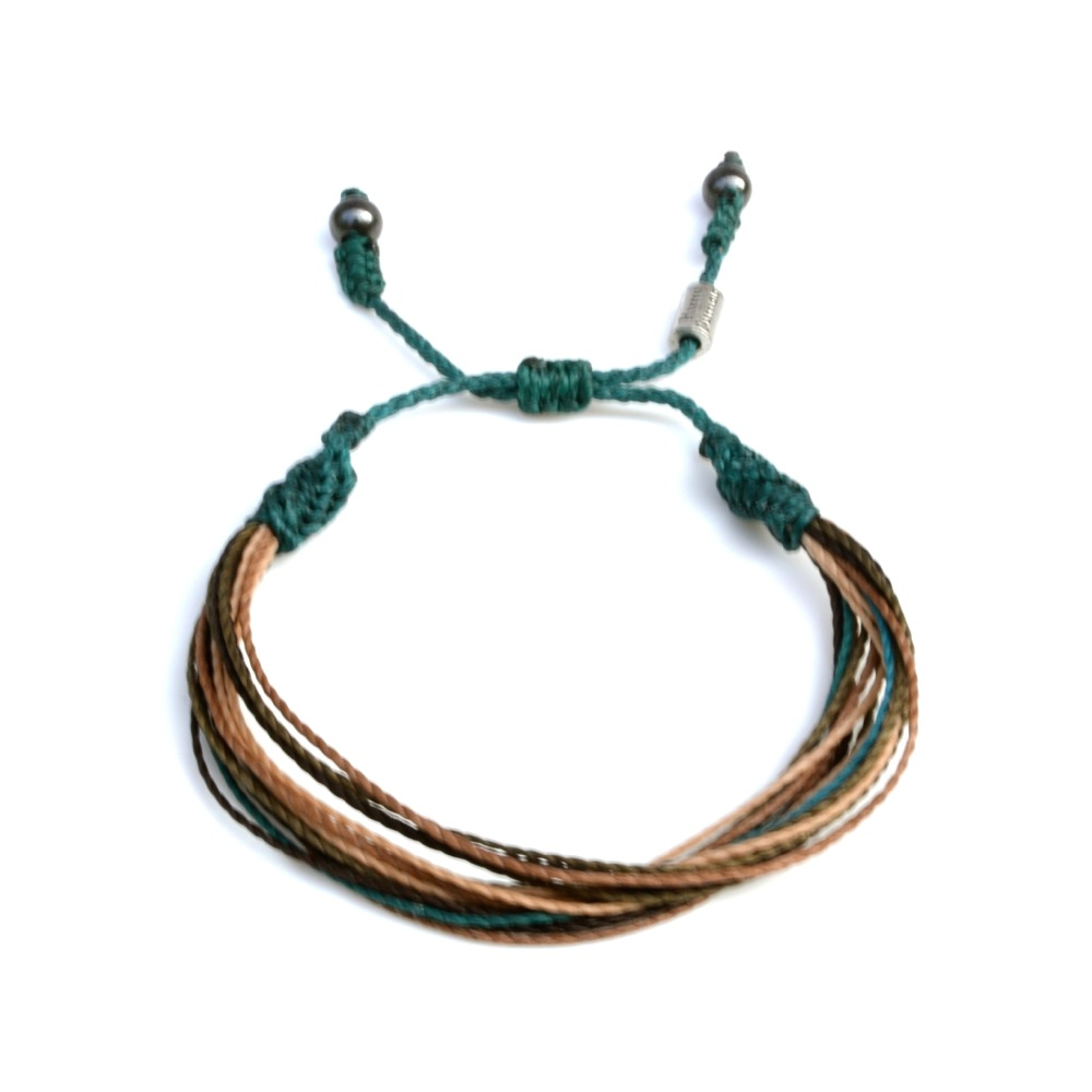 Waka macrame bracelet by designer Coco Paniora Salinas of Rumi Sumaq ...