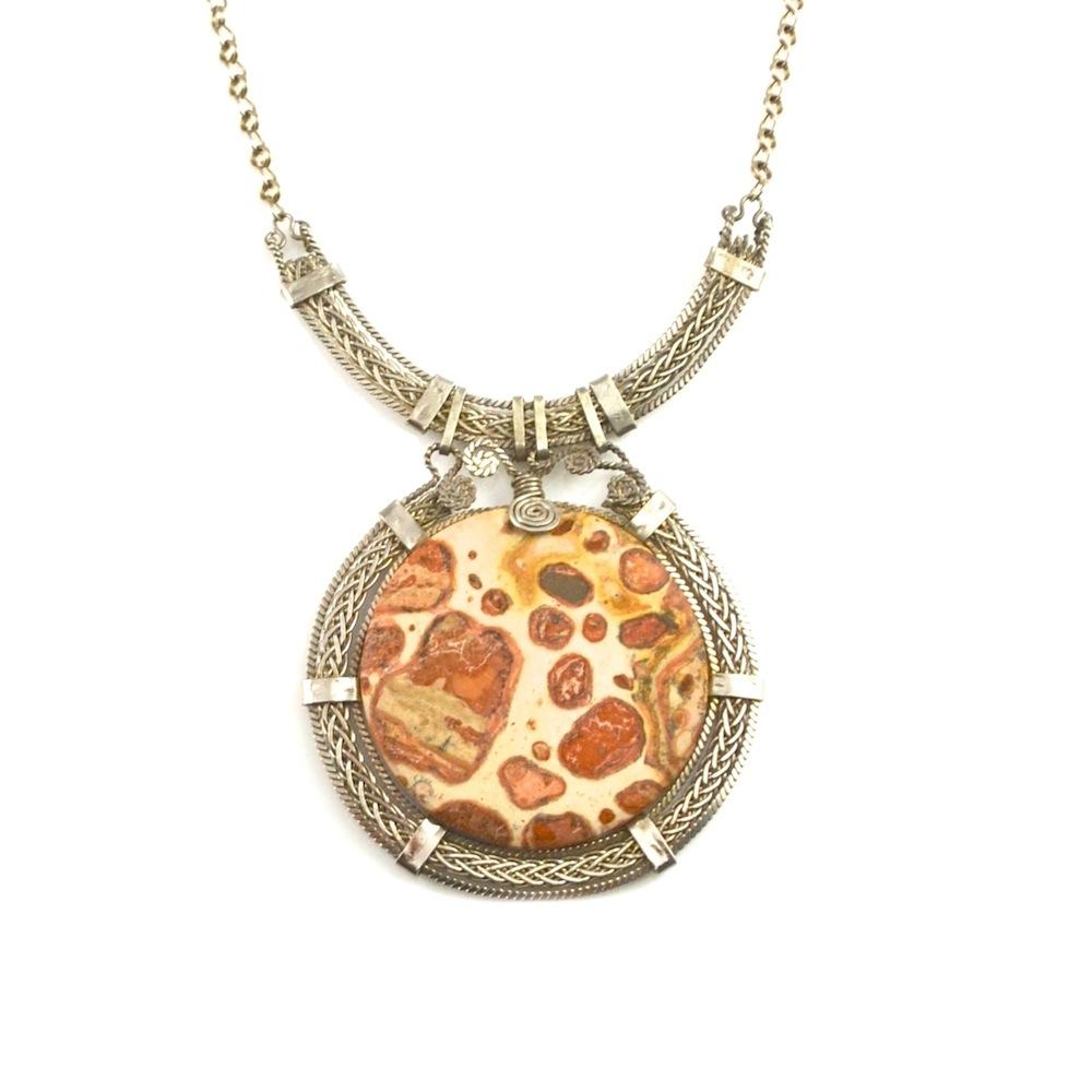 """Rumi Sumaq """"Atacama"""" wirework art jewelry necklace rumisumaq.com"""
