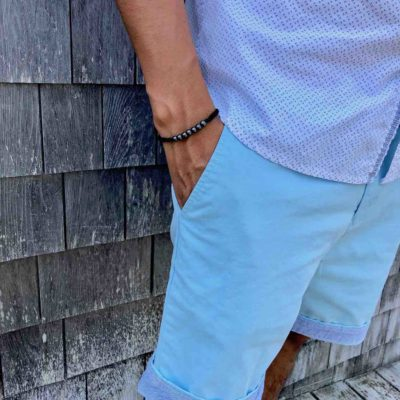 Rope Bracelet Black with Hematite Stones | RUMI SUMAQ Rope Bracelets