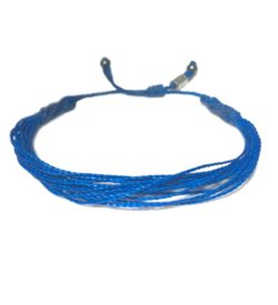 Blue awareness bracelet by Rumi Sumaq