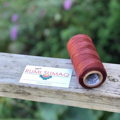 Buy Waxed Cord Linhasita 212 Copper Waxed Thread | RUMI SUMAQ Waxed Polyester Cord 1mm