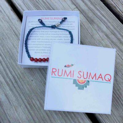 Fire Agate Bracelet | RUMI SUMAQ Gemstone Macrame Bracelets