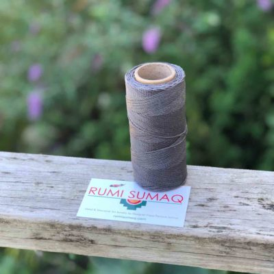Gray Waxed Cord Linhasita 336 Grey Waxed Thread | RUMI SUMAQ Hilo Encerado Plumo