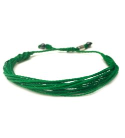 Green awareness bracelet by RUMI SUMAQ jewelry