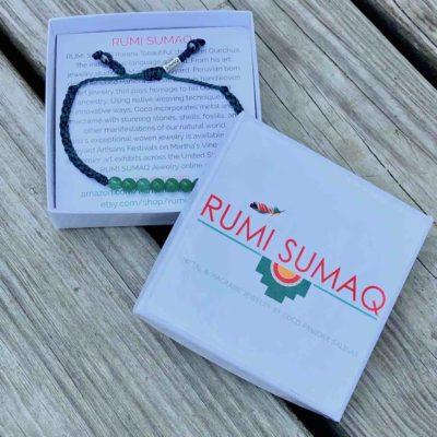 Green Jade Bead Bracelet | RUMI SUMAQ Gemstone Sailor Knot Rope Bracelets