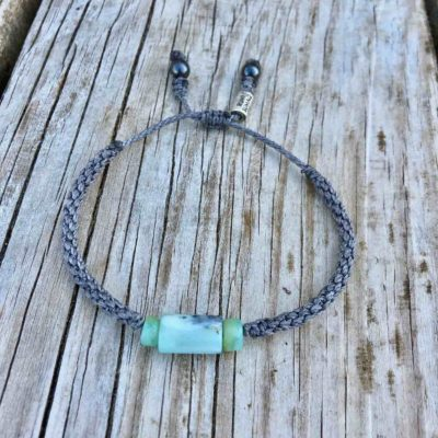 Green Peruvian Opal Bracelet | RUMI SUMAQ