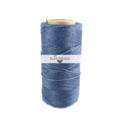 Linhasita 1037 Periwinkle waxed Polyester Cord 1mm | RUMI SUMAQ Waxed Cords