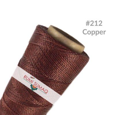 Waxed Cord Linhasita 212 Copper | Rumi Sumaq
