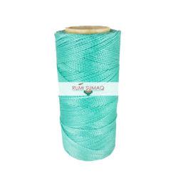 Linhasita 224 Waxed Polyester Cord 1mm Hilo Encerrado | Rumi Sumaq Macrame Knotting Cords, Hand Stitching Threads