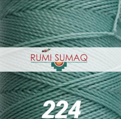 Linhasita 224 Waxed Polyester Cord 1mm Hilo Encerrado | Rumi Sumaq Macrame Knotting Cords