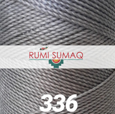 Find Linhasita 336 gray waxed polyester cord at RUMI SUMAQ, the premier retailer for 1mm Linhasita waxed thread for beading, basket making, leather working, quilting and knotting macrame jewelry
