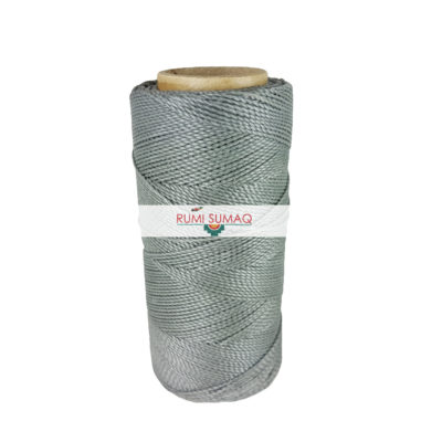 Find Linhasita 336 gray waxed polyester cord at RUMI SUMAQ, the premier retailer for 1mm Linhasita waxed thread for leather working, quilting, knots jewelry
