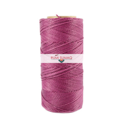 Find Linhasita 360 light orchid 1mm waxed polyester cord at RUMI SUMAQ, the premier retailer for waxed thread for knotting, beading, quilting and leather working