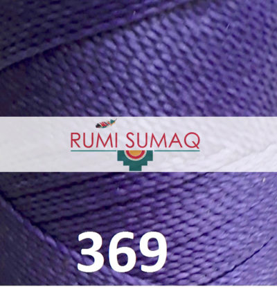 Find Linhasita 369 purple 1mm waxed polyester cord at RUMI SUMAQ, the premier retailer for waxed cords for basketry, jewelry making, beading and quilting.