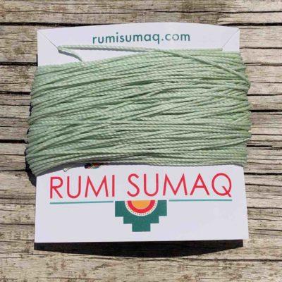 Linhasita 397 Mint Green Waxed Polyester Cord 30 Meter Skein | Rumi Sumaq