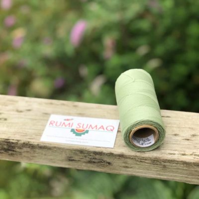 Linhasita 397 Mint green Waxed Polyester Cord 1mm Hilo Encerado Verde Claro | RUMI SUMAQ Waxed Cords