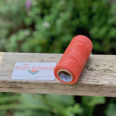 Waxed Thread Spool Linhasita 640 Salmon 1mm Waxed Polyester Cord Linha Encerada | RUMI SUMAQ Cords