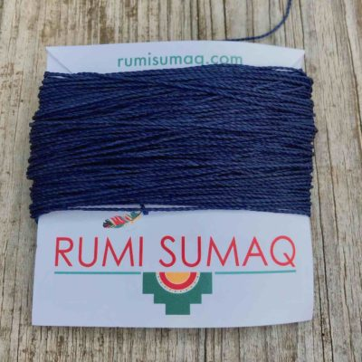 Linhasita 70 Indigo 1mm Quilting Thread | RUMI SUMAQ Waxed Cord