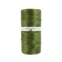 Linhasita 88 1mm Waxed Polyester Cord | RUMI SUMAQ Waxed thread for Basket Making, Beading, Lather Working, Hand-Stitching, Macrame Knotting and Jewelry Making