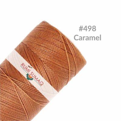 Linhasita 498 Caramel | Rumi Sumaq 1mm Waxed Cord