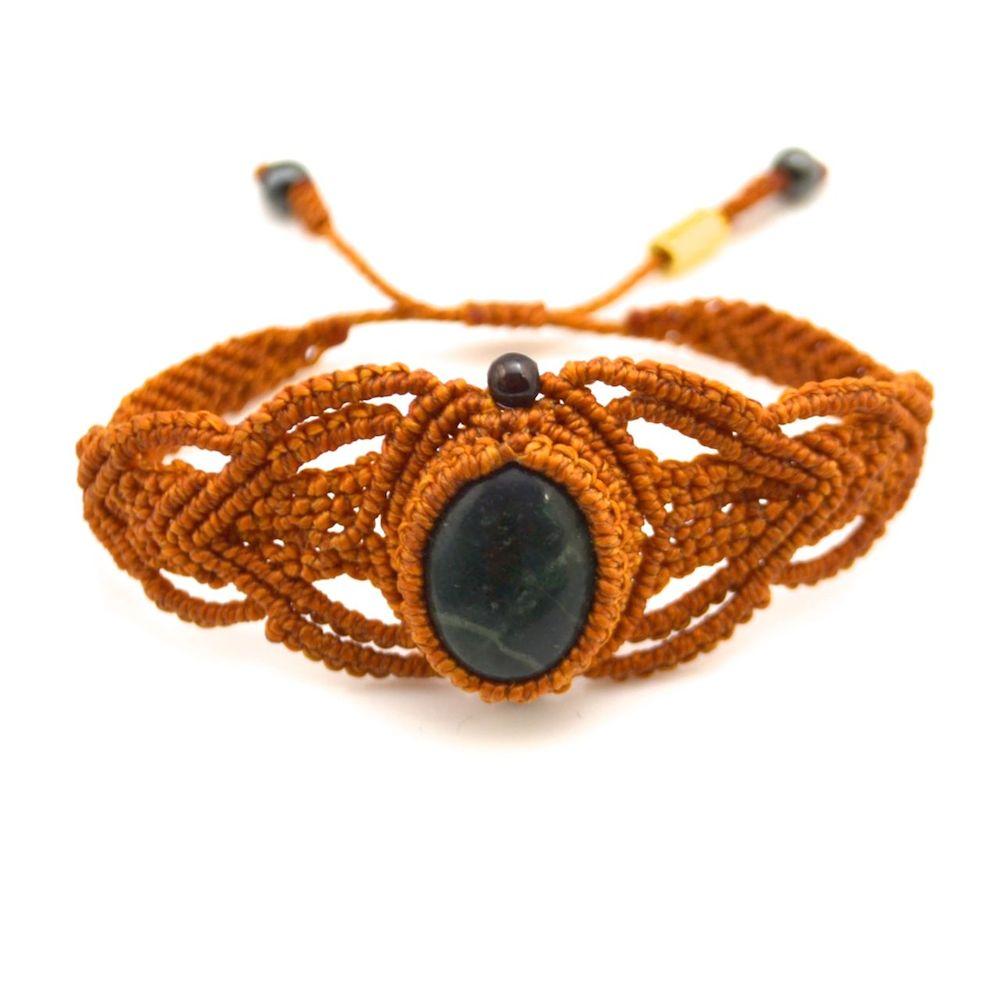 Kañay Macrame Bracelet by designer Coco Paniora Salinas of Rumi Sumaq