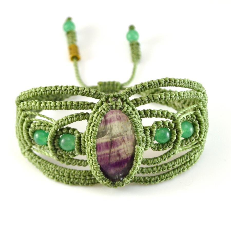 Rumi Sumaq macramé bracelet Qumir