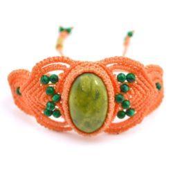 Mallki Macrame Bracelet by designer Coco Paniora Salinas of Rumi Sumaq