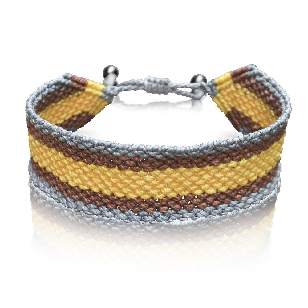 Rumi Sumaq Men's Macrame Bracelet in Organic Spa Magazine Menswear Feature