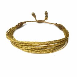 RUMI SUMAQ Metallic Gold Awareness Bracelet